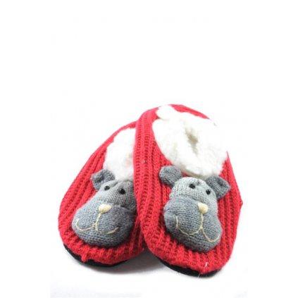 Dámske ponožky / papuče so zvieratkom (Farba Neurčená, Veľkosť Neurčená)