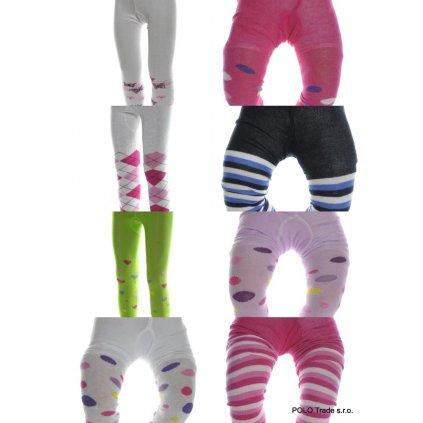Detské vzorované pančuchy 1-3R (Farba Neurčená, Veľkosť Neurčená)