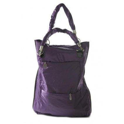Dámska lesklá kabelka (Farba Čierna, Veľkosť Neurčená)