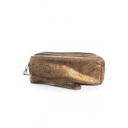 Malá spoločenská kabelka - dvojpriehradková (Farba Čierna, Veľkosť Neurčená)