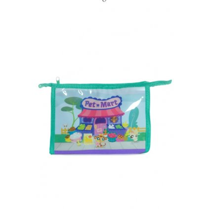 Taška - Pet Shop (Farba Svetlofialová, Veľkosť 24x17cm)