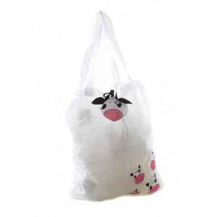 Nákupná taška zvieratko (Farba Svetloružová, Veľkosť 35x30cm)
