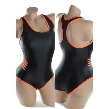 Plavky dámske - plavecké SPORT (Farba Svetlomodrá, Veľkosť 44)