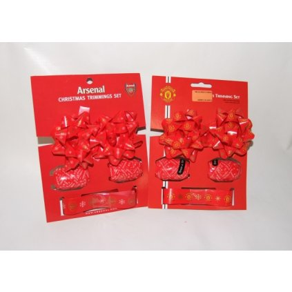 Vianočný baliaci set Arsenal London (Farba Neurčená, Veľkosť Neurčená)