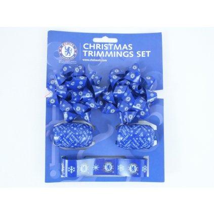 Chelsea - vianočné ozdoby (Farba Modrá, Veľkosť Neurčená)