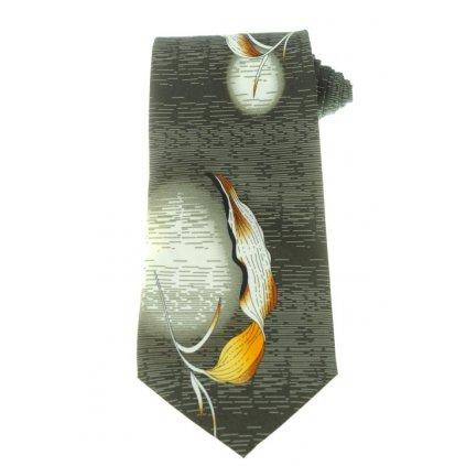 Kravata - list (Farba Šedá, Veľkosť Neurčená)