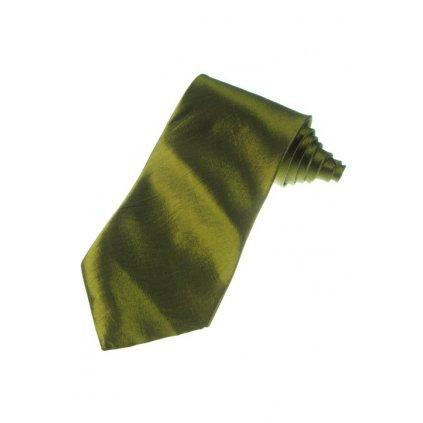 Kravata saténová - hrubá (Farba Svetloružová, Veľkosť Neurčená)