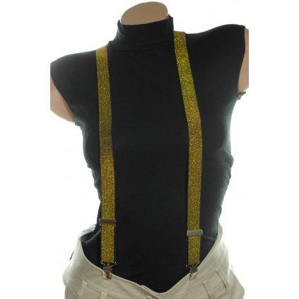 Štýlové traky (Farba Žltá, Veľkosť 25mm)