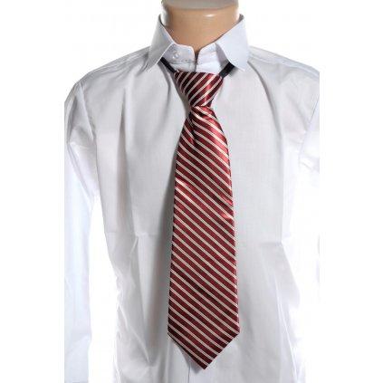 Kravata širšia (Farba Červená, Veľkosť 36cm)