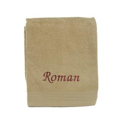 Uterák ROMAN, 90x50cm, rôzne farby, PoloTrade (Farba Žltá, Veľkosť 90x50cm)