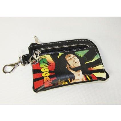 Peňaženka a kľúčenka Bob Marley (Farba Neurčená, Veľkosť Neurčená)