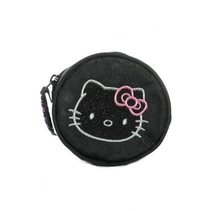 Peňaženka Hello Kitty (Farba Čierna, Veľkosť 12x3cm)