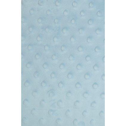 Detská deka pukanec 90x100cm, PoloTrade (Farba Svetlomodrá, Veľkosť 100x90cm)