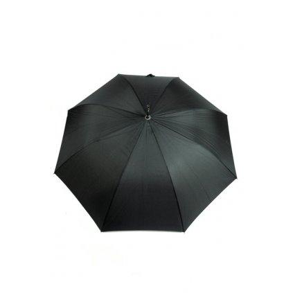 Dáždnik - čierny, klasický (Farba Čierna, Veľkosť 110cm)