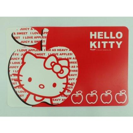 Podložka - Hello Kitty (Farba Červená, Veľkosť 43x28cm)