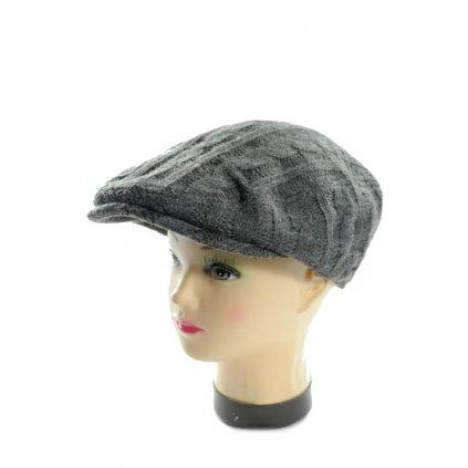 Baretka pánska - pletená (Farba Čierna, Veľkosť UNI)