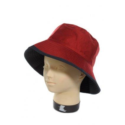 Dámsky klobúk látkový (Farba Červená, Veľkosť Neurčená)