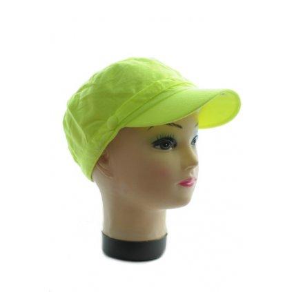 Dámska šiltovka Baret - Neon (Farba Zelená, Veľkosť UNI)