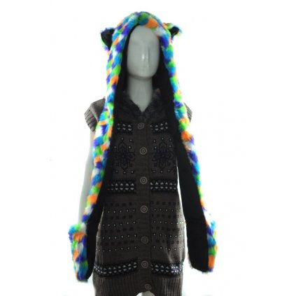 Čiapka dámska - farebná (Farba Svetloružová, Veľkosť UNI)