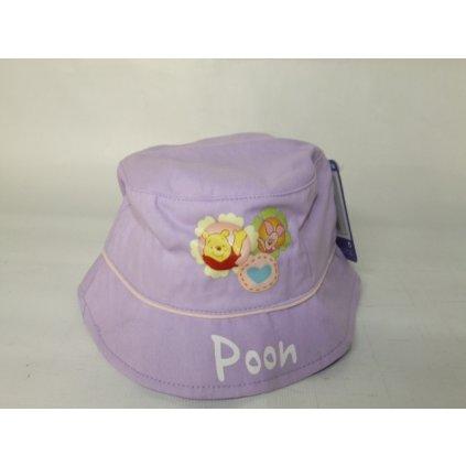 Klobúk Macko Pooh (Farba Svetlofialová, Veľkosť Neurčená)