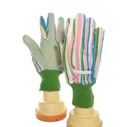 Pracovné zelené rukavice pogumované, PoloTrade (Farba Multifarebné, Veľkosť Neurčená)