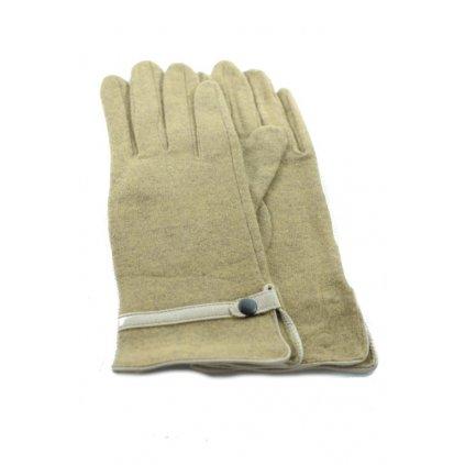 Dámske látkové rukavice (Farba Červená, Veľkosť XL)