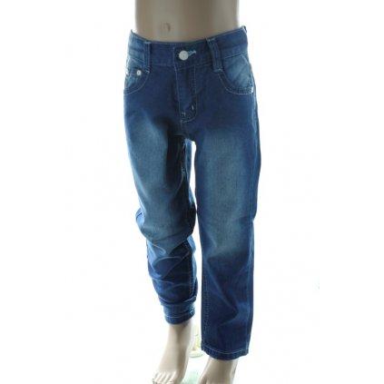 Detské riflové nohavice rovného strihu (Farba Modrá, Veľkosť 86)