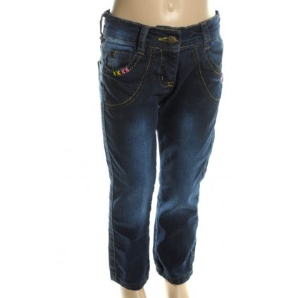 Detské riflové nohavice (Farba Tmavomodrá, Veľkosť 86)