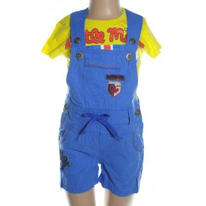 Detské nohavice na traky - Heli Pilot, 3 kusy v balení (Farba Zlatá, Veľkosť 2r)