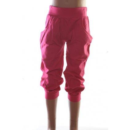 Detské trojštvrťové nohavice (Farba Fialová, Veľkosť 176)