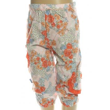 Detské nohavice - 3/4 kvety (Farba Neurčená, Veľkosť 3r)