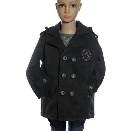Detská bunda - kabátik (Farba Tmavošedá, Veľkosť 4r)