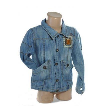 Chlapčenská riflová bunda (Farba Modrá, Veľkosť 4r)