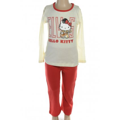 Pyžamo Hello Kitty - ELVIS (Farba Krémová, Veľkosť 3r)