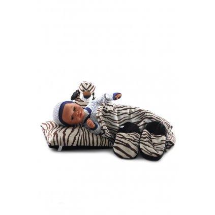 Detský 4-dielný set tiger, PoloTrade (Farba Svetlohnedá, Veľkosť Neurčená)