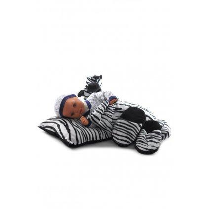 Detský 4-dielný set zebra, PoloTrade (Farba Biela, Veľkosť Neurčená)