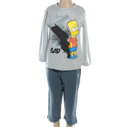 Pyžamo BART SIMPSON - BAD (Farba Svetlošedá, Veľkosť 3r)