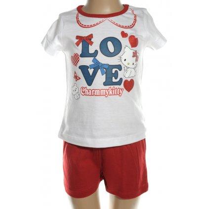 Pyžamo Charmmy Kitty - LOVE (Farba Biela, Veľkosť 3r)