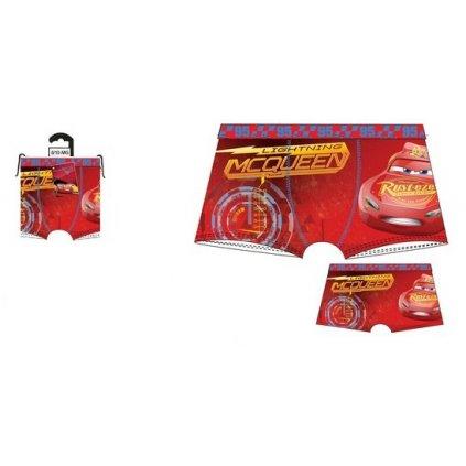 Chlapčenské boxerky CARS 95 (Farba Červená, Veľkosť 2/3r)