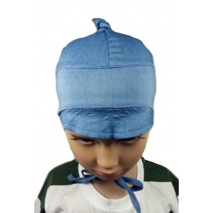 Ciapka det.kojenecka silt jedn, (Farba Modrá, Veľkosť 38-40)