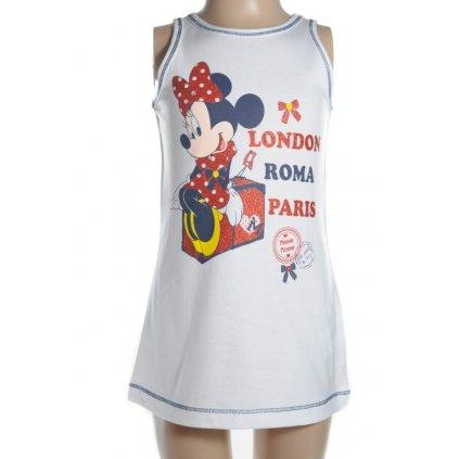 Detské šaty Minnie - London, Paris, Roma (Farba Biela, Veľkosť 3r)