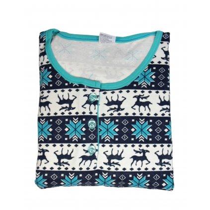 Dámske pyžamo - vianočný motív (Farba Neurčená, Veľkosť Neurčená)