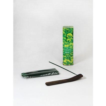 Aromatické vonné tyčinky - bylinky (Farba Zelená, Veľkosť 16x4cm)