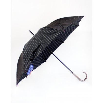 Dáždnik - pásy (Farba Čierna, Veľkosť 86cm)
