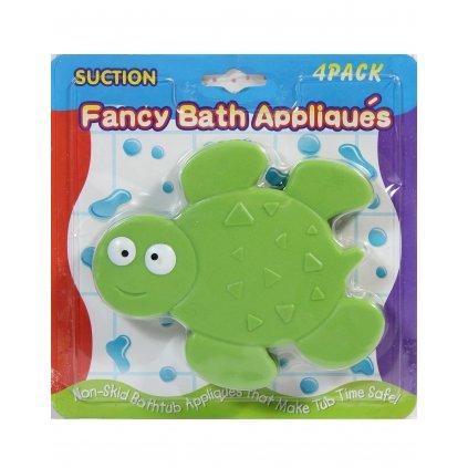 Detská prísavka do kúpeľne - korytnačka (Farba Zelená, Veľkosť 12x11CM)
