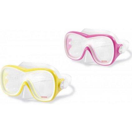 Intex Potápačská maska (Farba Žltá, Veľkosť Neurčená)