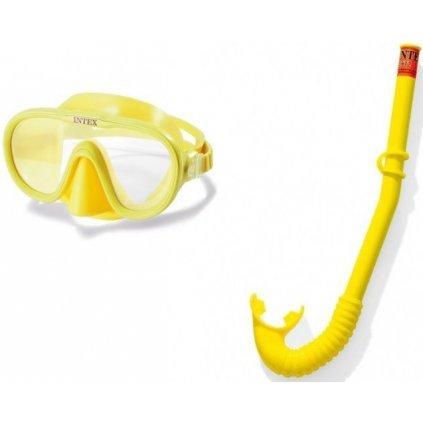Intex Potápačský set  /55642/ (Farba Žltá, Veľkosť Neurčená)