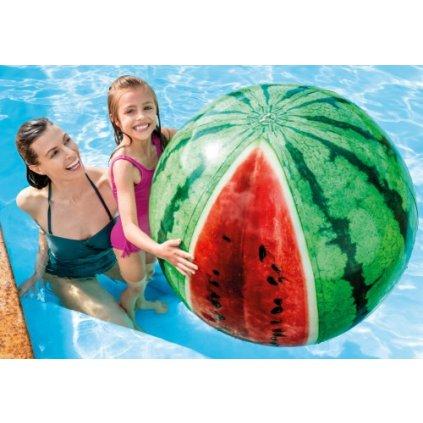Lopta vodný melón (Farba Zelená, Veľkosť 107cm)
