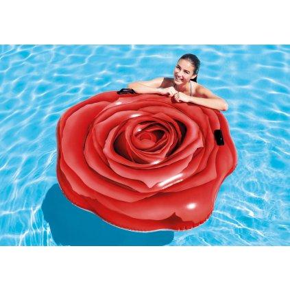 Nafukovačka ruža 137*132cm (Farba Červená, Veľkosť 137x132)