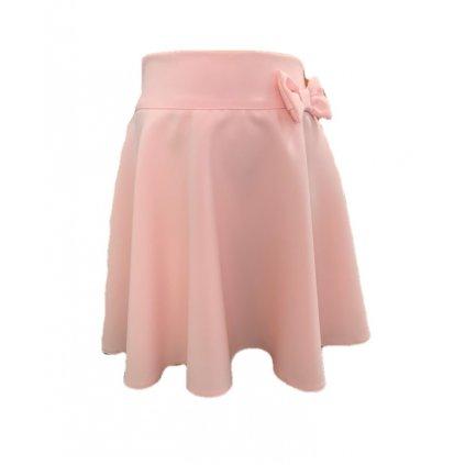 Dievčenská ružová sukňa (Farba Svetloružová, Veľkosť 128)